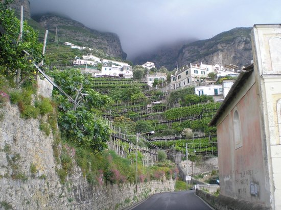 Locanda Costa d'Amalfi: Amalfi Coast roads