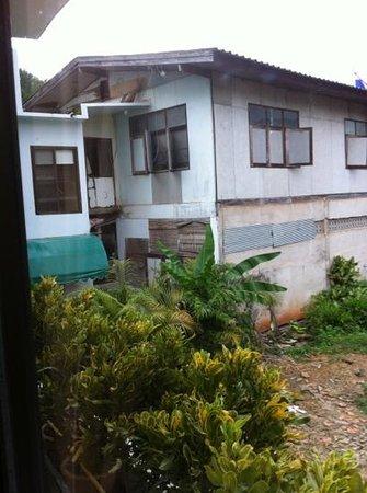 Baiyoke Chalet Hotel: seul bémol : la vue depuis la chambre
