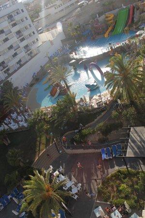Hotel Los Patos Park: desde mi balcon un septimo