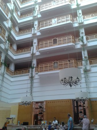 Marhaba Royal Salem: outstanding lobby