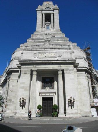 Freemasons' Hall: Fressmason's Hall, London