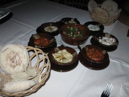 Oriental Grill : Meze Starter included in price