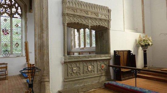 Anglia Wschodnia, UK: Sir John Hopton's tomb