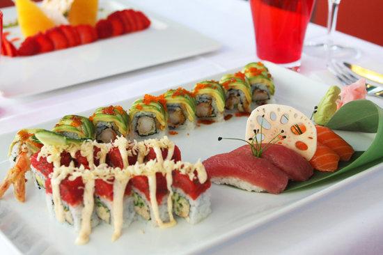 Le Bato Ivre : sushi