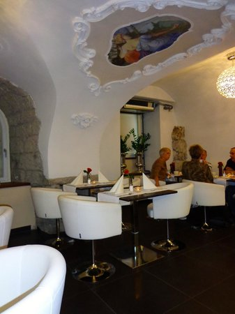 Hotel Am Dom: Quaint breakfast area