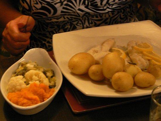 Rusland Pool Restaurant & Bar: Lemon cod