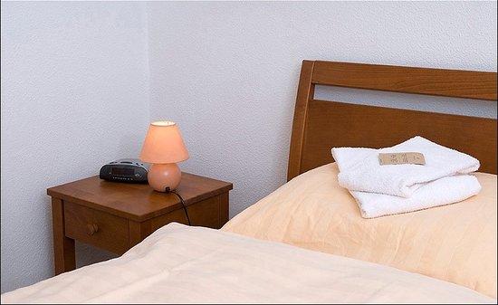Hotel de la Gare : Chambres doubles avec douche/WC