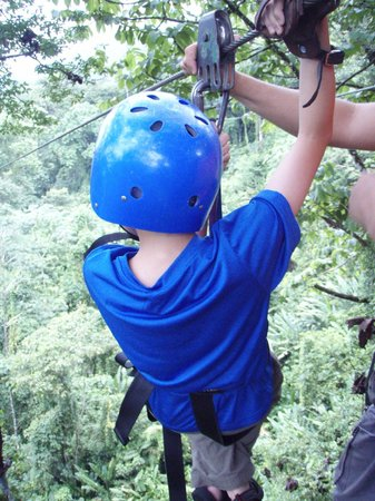 Tours to Go Costa Rica: Getting my younger son steady before his trip