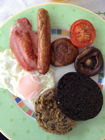 Burnside Farm : One of Joy's delicious breakfasts