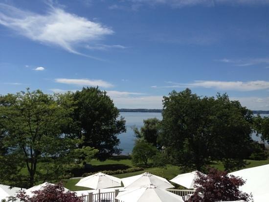 Aurora Inn: view from balcony