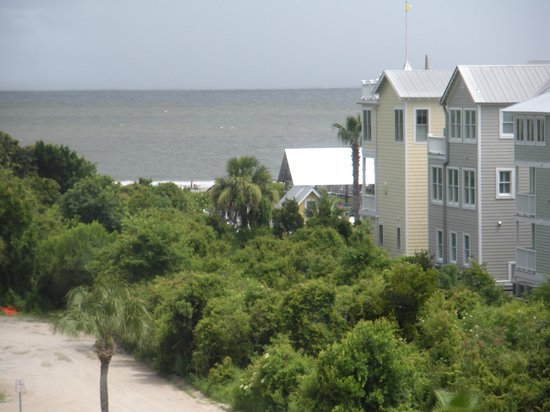 Maritime Center at Historic Coast Guard Station: View from Widow's walk towards beach