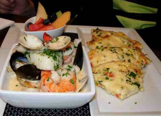 Wildflower Grill: Deconstructed Seafood Fritatta