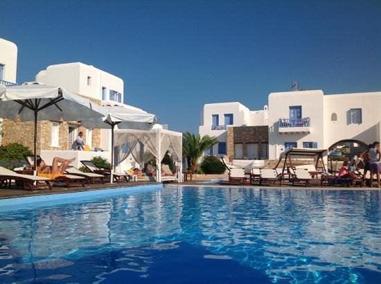 Chora Resort Hotel and Spa: χώρος πισίνας