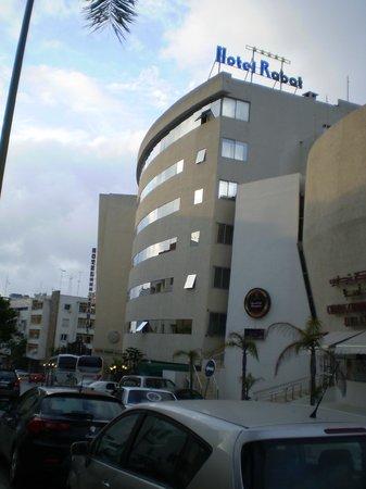 Hotel Rabat : fachada del hotel