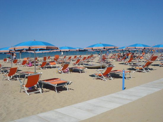 Villaggio Club Albatros: spiaggia