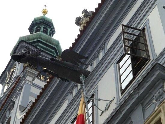 Town Hall (Radnice): DETALLE DE UNA GÁRGOLA