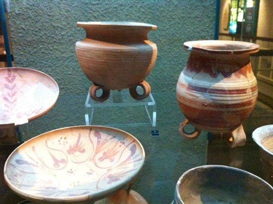 Herodian Quarter/Wohl Archaeological Museum: Gebruiksvoorwerpen tijdens de tweede tempel