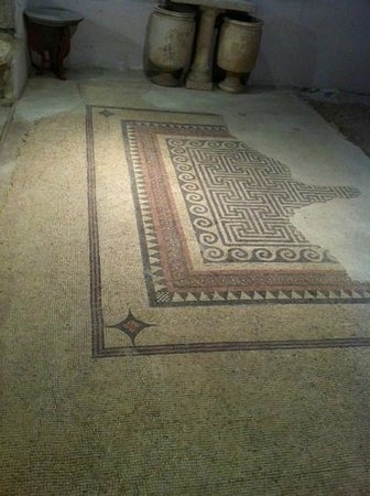 Herodian Quarter/Wohl Archaeological Museum: Mozaieken vloer