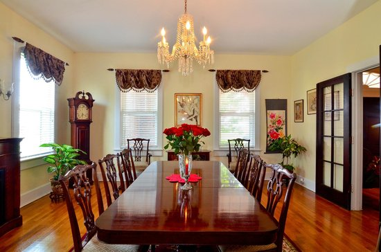 Chesapeake Bay View Bed & Breakfast : Dining Room