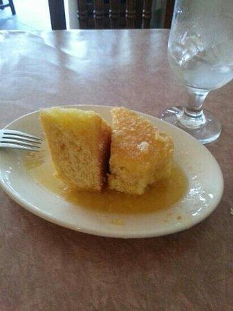 Olivier's Creole Restaurant: House made honey butter cornbread