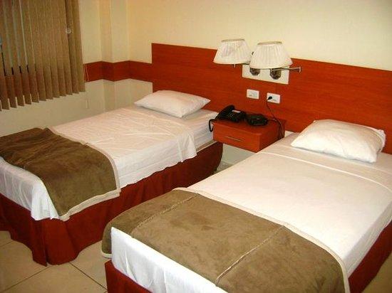 Centroamericano Hotel: Camas comodas y agradables