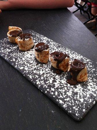 La Mère Poulard Café : Une crepe au chocolat