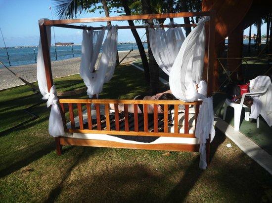 Marina Park Hotel: Canto do repouso