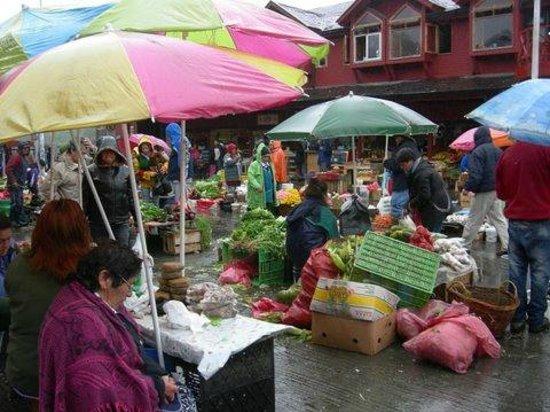 Casa Perla: mercado Angelmo ,un sabado