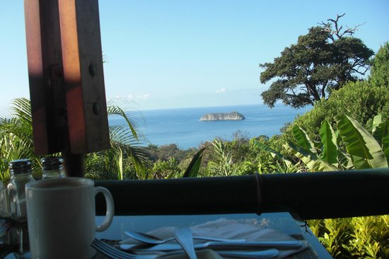 Hotel Si Como No: View from breakfast table, outstanding start of the day