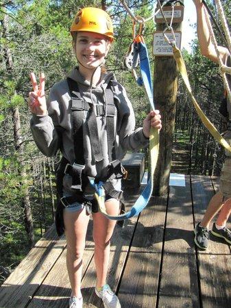 Treeosix Adventure Parks : Big smiles all around!