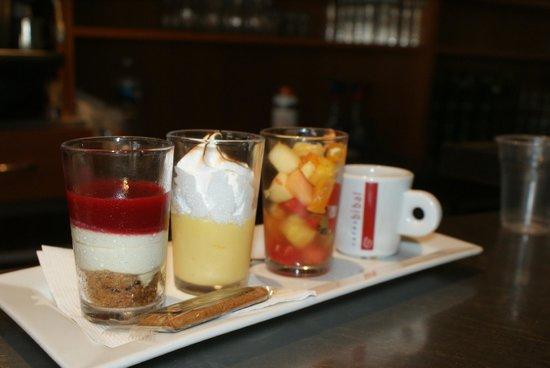 Le Bistro : Café gourmand