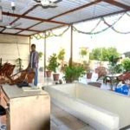 Hotel Vishal: roof garden