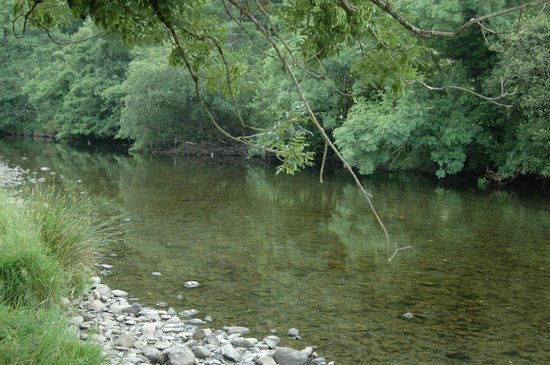 The Old Coach House: the river