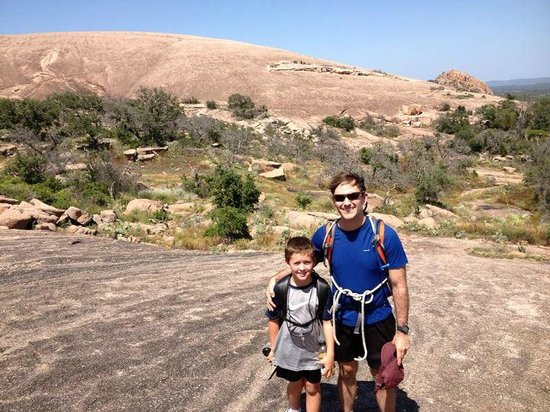 Rock-About Climbing Adventures: Enchanted Rock - Returning from Rock Climbing Trip with Rock About Climbing Adventures