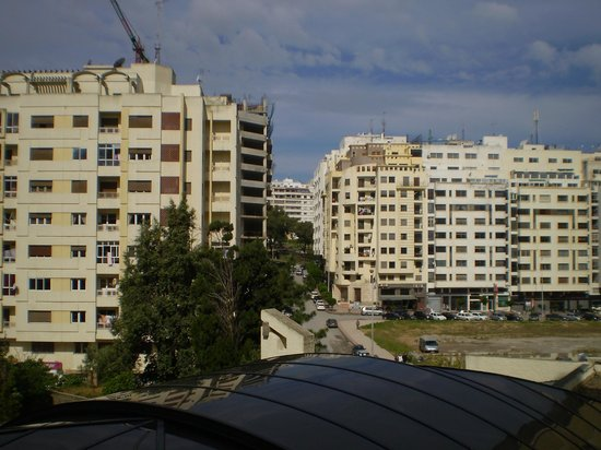 Atlas les Almohades Tanger : vista desde el hotel 2