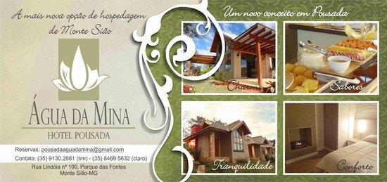 Hotel Pousada Agua da Mina: Venha conhecer!