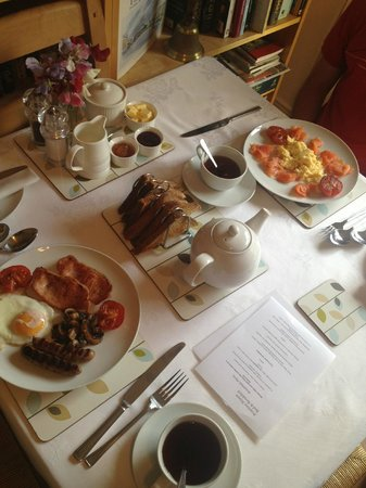 Peartree Bed and Breakfast: breakfast