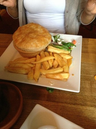 The White Horse Inn: great portions