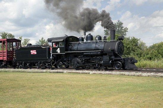 Lumberjack Steam Train: Laona & Northern 4, 2-6-2 (Vulcan 2535 / 1916)