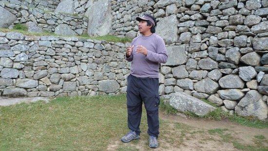 Hostal Casa del Inka: Guía Javier