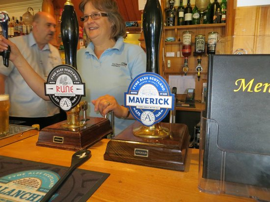 The Oystercatcher: We had both of the Fyne Ales