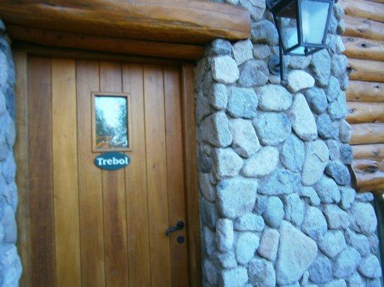Cabanas Huitan Co: Huitan-Co: Acceso a cabañas
