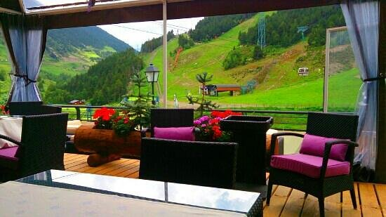 Sol i Neu Club Hermitage. : terraza
