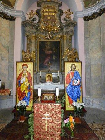 Chapel of the Lord's Mortal Anxiety : VISTA DE LA CAPILLA DESDE EL EXTERIOR