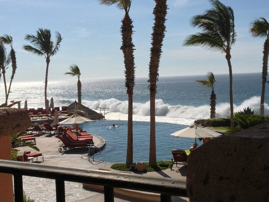 Sheraton Grand Los Cabos Hacienda del Mar: View from Tomatoes restaurant