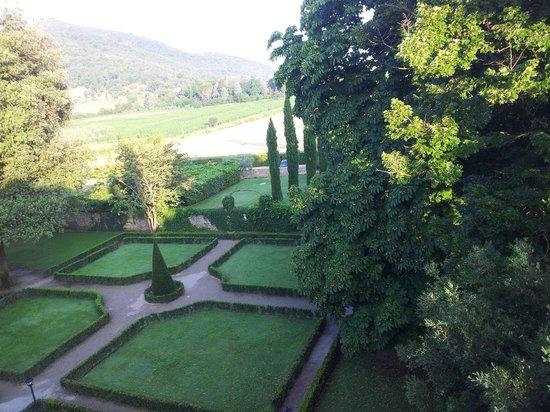 Villa di Piazzano: View from our room