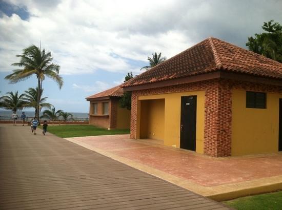 El Faro Park: área de los baños