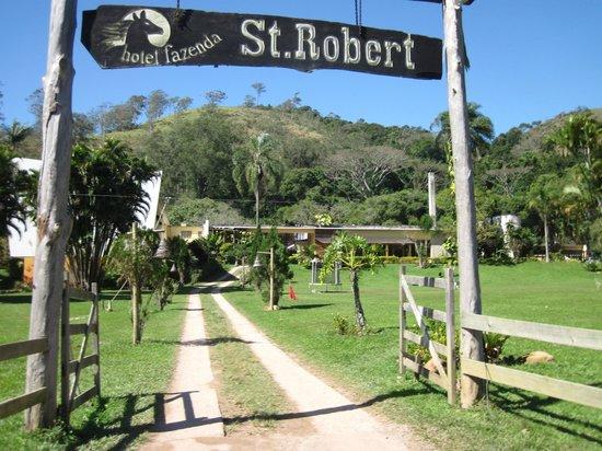 Hotel Fazenda St. Robert : Entrada do hotel