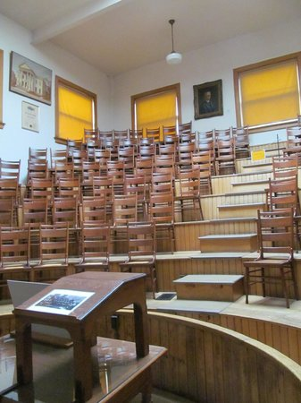 Indiana Medical History Museum: The Lecture Hall