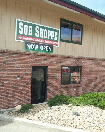 the sub shoppe, in beautiful evergreen co